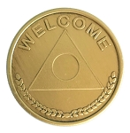 Al-Anon Welcome Bronze Coin